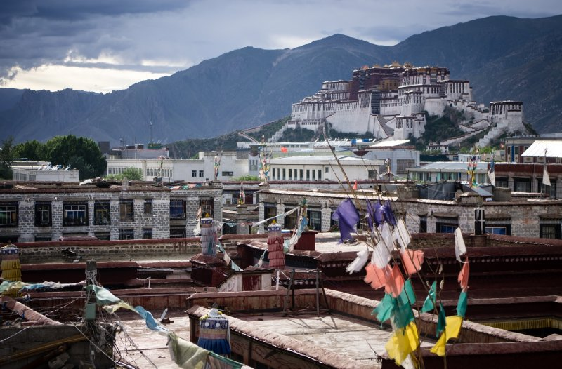 Potala Palace from the hotel roof