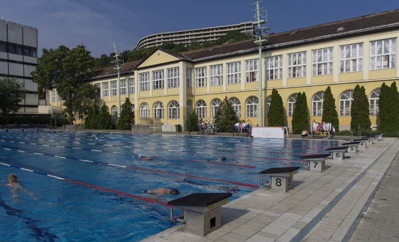 Budapest Hotel with Olympic Sized Pool