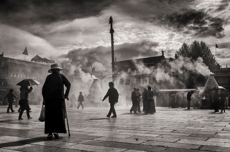 Barkhor Square, Lhasa
