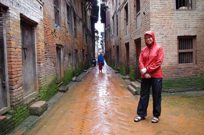 Jen in Bhaktapur