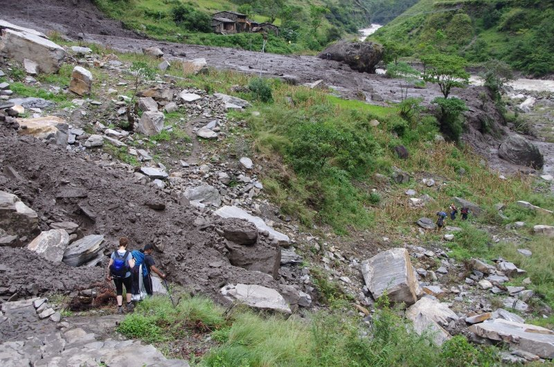 The Mudslide That Wiped Out Salleri
