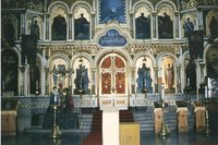 The interior of Uspensky Cathedral - Helsinki