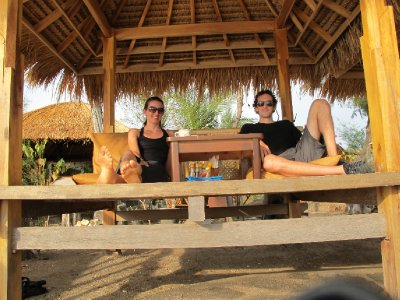 Gili Islands Lounging