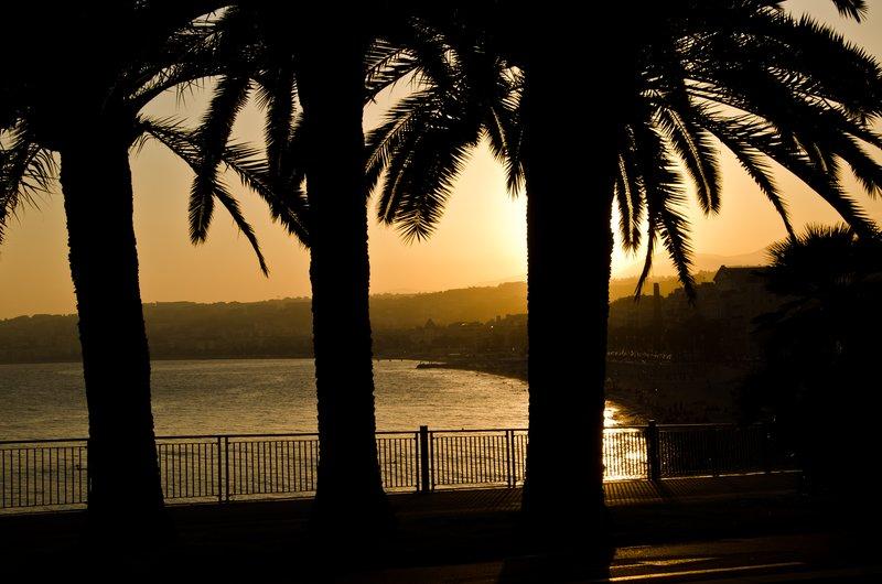 Sunset at Nice