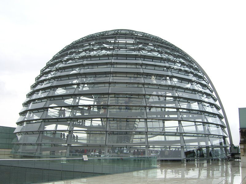 The German Parliament Dome
