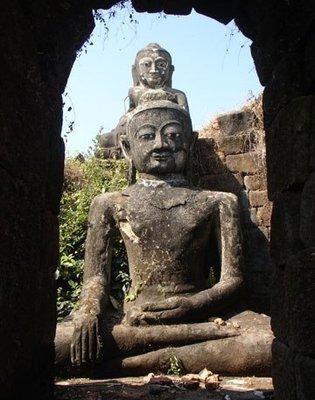 Antient Buddha Statue