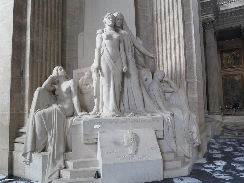 Pantheon - Sculpture