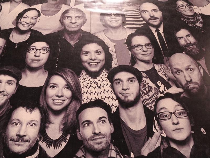 Pantheon - Selfie Collage