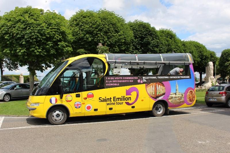 St Emilion - Wine Tour Bus