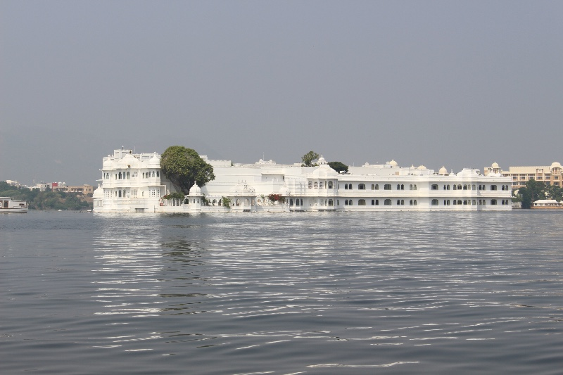 Lake Palace from boat