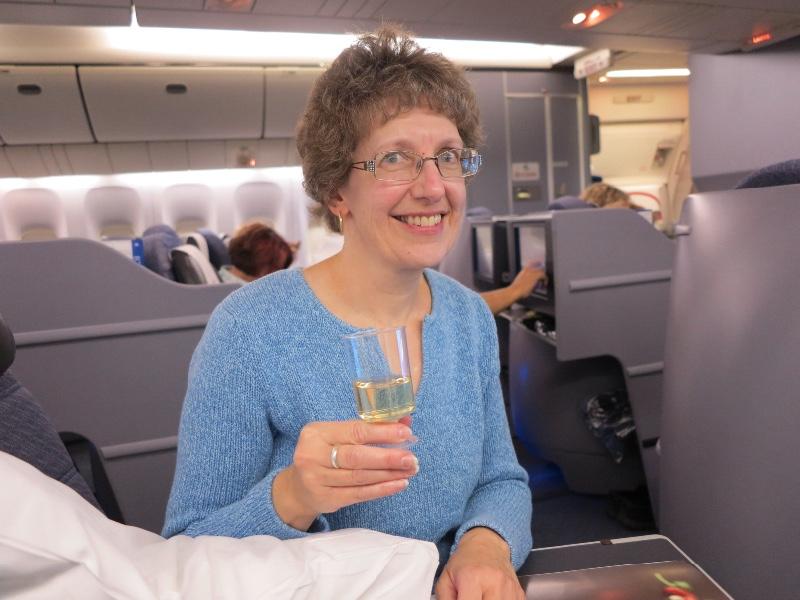 Sue on flt to New Delhi