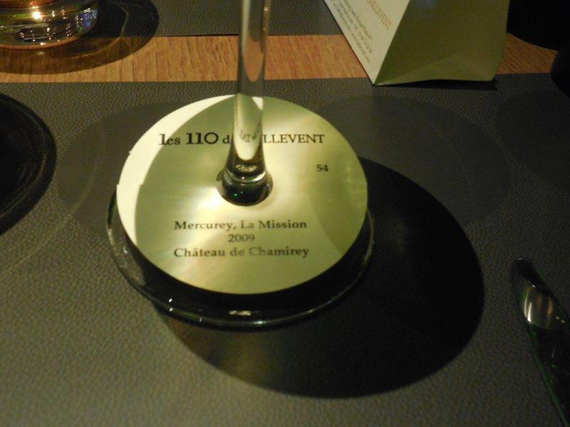 Paris - Les 110 de Taillevent - Wine selection