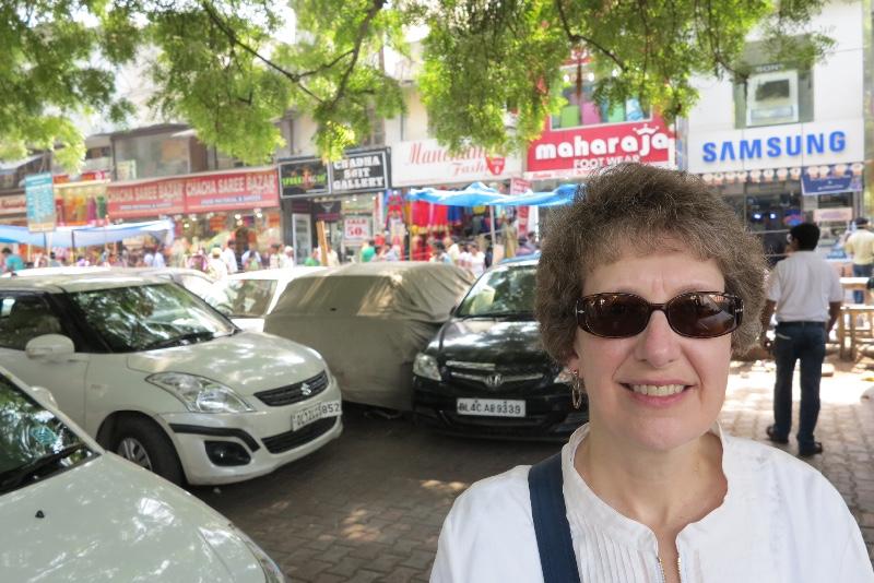 Sue - New Delhi market