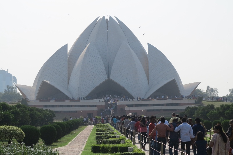 India Delhi Lotus Temple