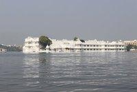 Lake Palace from boat