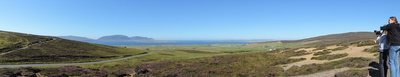Looking towards Isle of Hoy (left) and Stromness