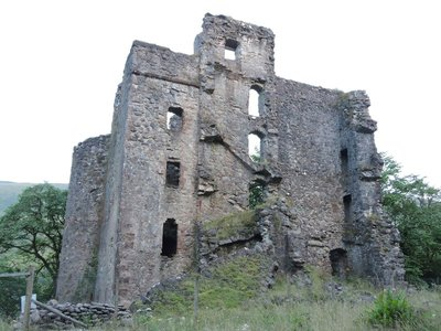 Ruins of Invergarry Castle, Invergarry, Scotland
