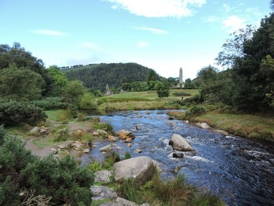 Monastic site at Glendalough, Ireland