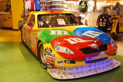 M and M Car!