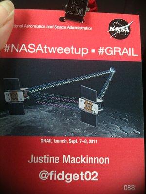 My NASA Credentials