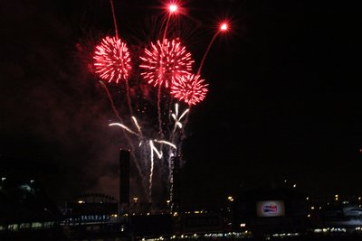 Fireworks in Chicago