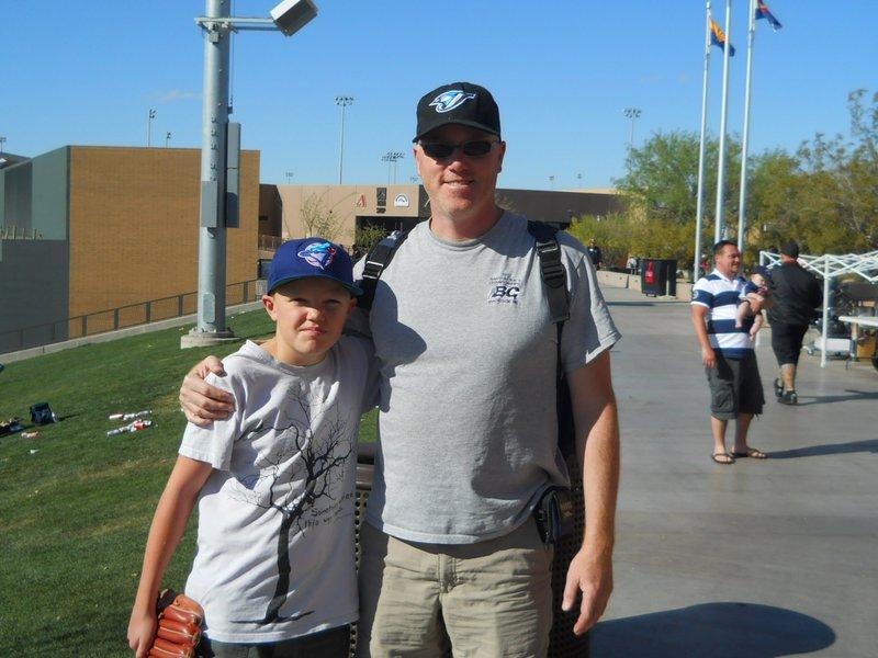 Boys at the ballpark