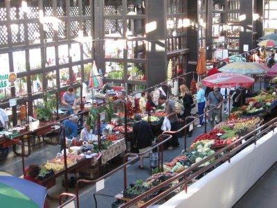 Inside the Farmers Market