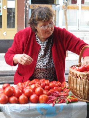 Farmers Market shopper