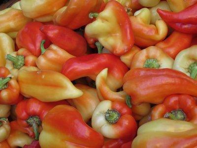 farmers market - more paprika