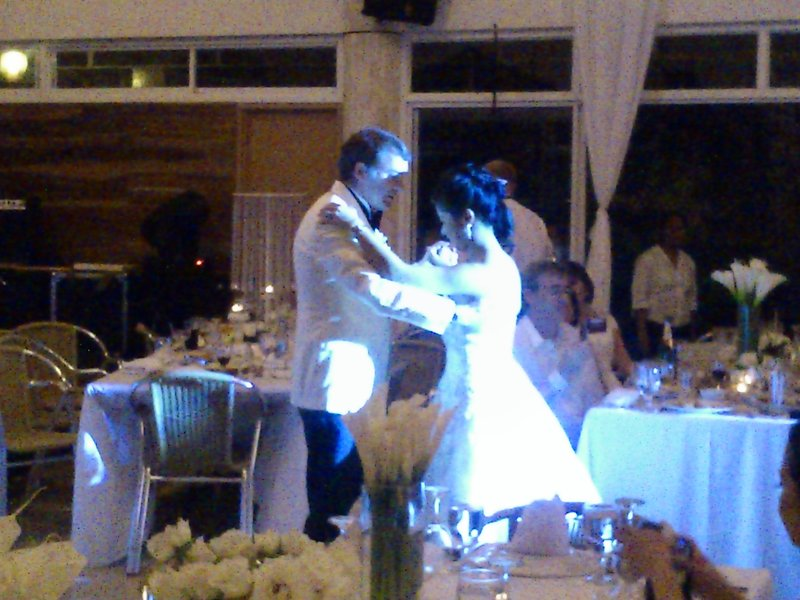 Rhoda & Andy's first dance