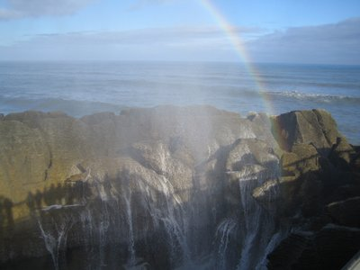 Pancake Rocks and Blow Holes, South Island, NZ