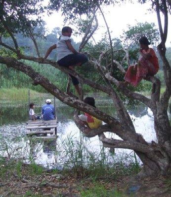 FISHING IN DYING LAKE