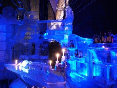 The ice bar in Svolvaer