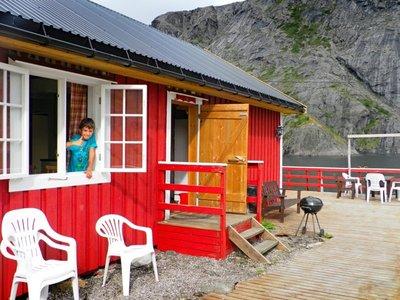 Nusfjord cottages