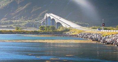 Bridge in Lofoten