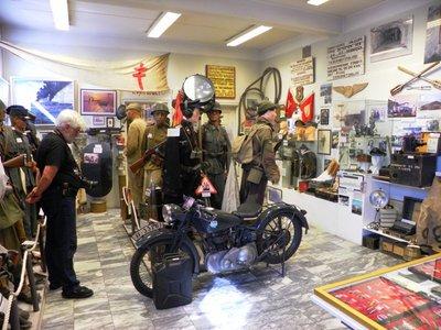 The impressive museum of WW2 in Svolvaer