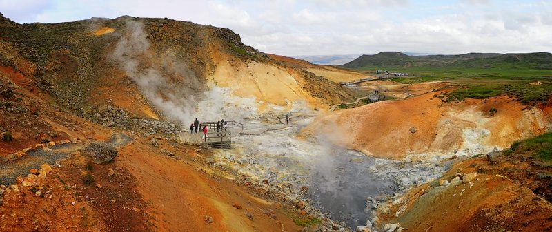 Seltun vulcanic area; Earth is alive!