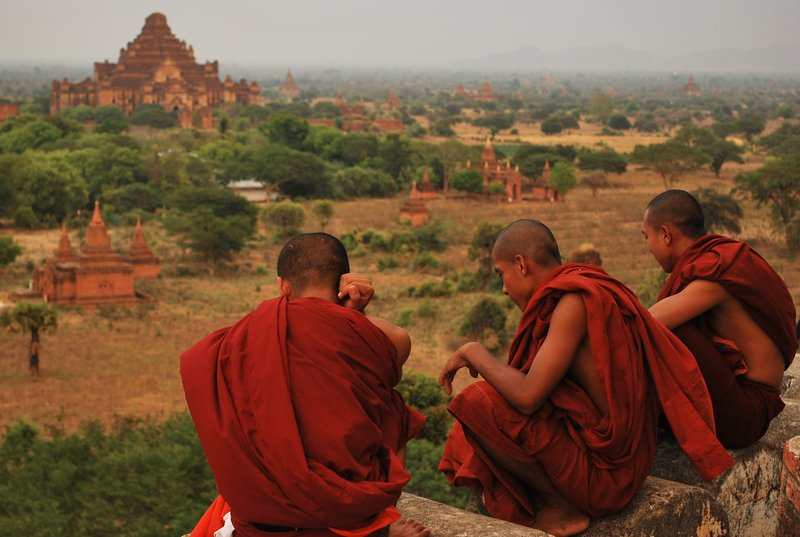 The monks
