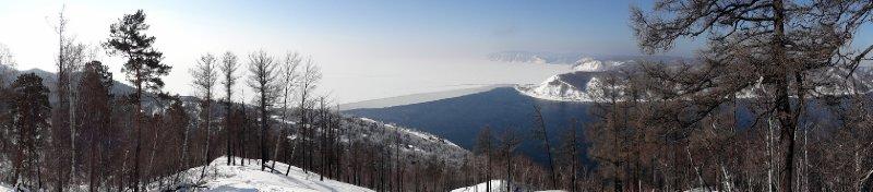 Source de la rivière Angara - Point de sortie des eaux du Baikal