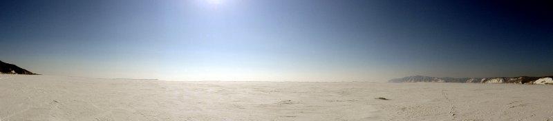 Encore un panoramique du Baikal