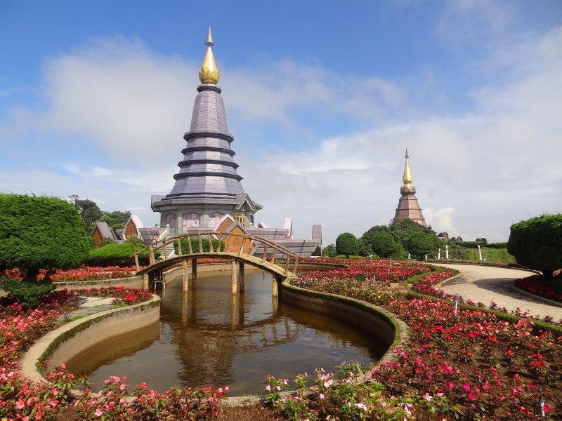 Temple au Doi Inthanon