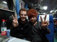 Antoine et Nei jiang hui - Superbe coupe de cheveux :)