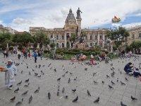 Place princiaple de La Paz