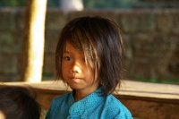 Petite fille Cambodgienne