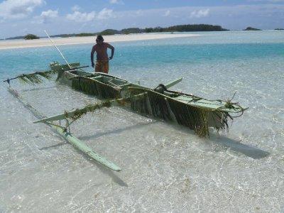 Raivavae canoe