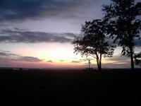 Sunset in Telki