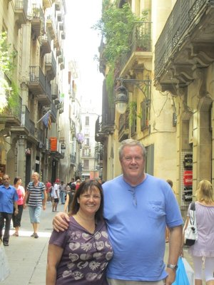 Barcelona on day one