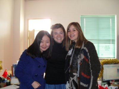 Sabrina, Kat and me