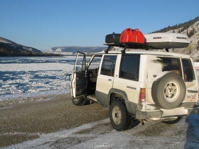 Yukon River Dawson City