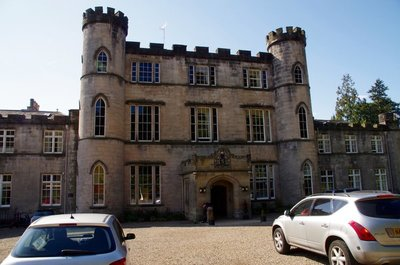 Melville Castle Edinburgh - We stayed here for a night